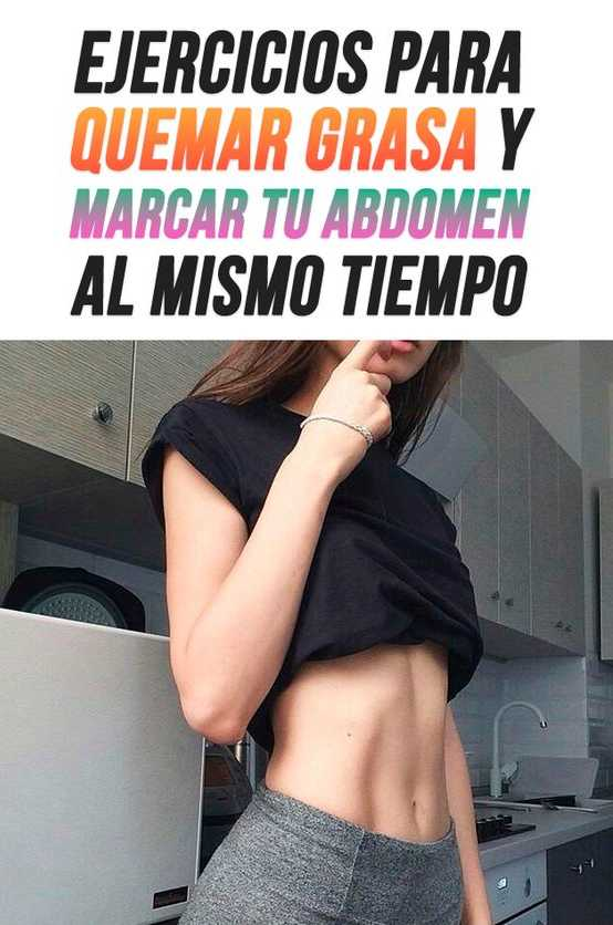quemar calorias y tonificar abdomen