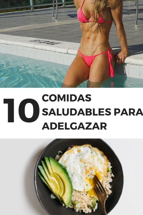 COMIDAS SALUDABLES PARA ADELGAZAR