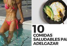 diez COMIDAS SALUDABLES PARA ADELGAZAR
