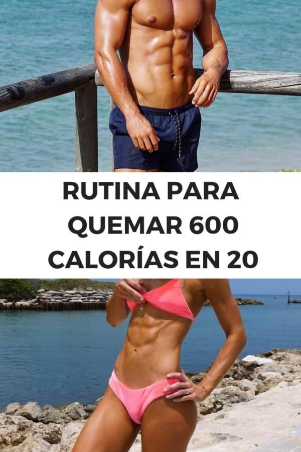 RUTINA PARA QUEMAR 600 CALORIAS VIDEO