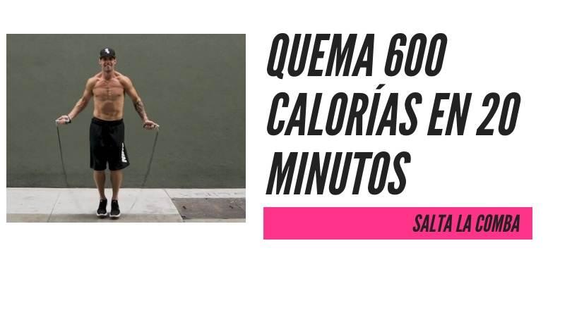 RUTINA QUEMA 600 CALORIAS