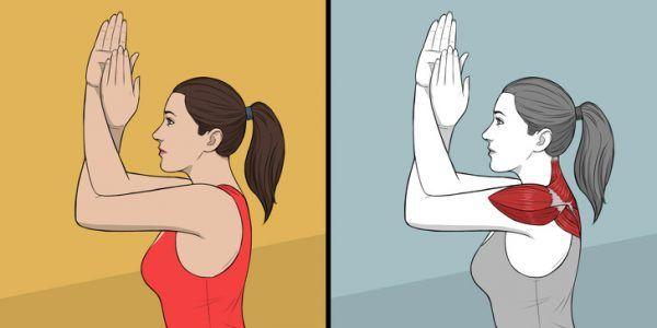 9 Ejercicios de estiramiento para hombros, cuello y espalda 4