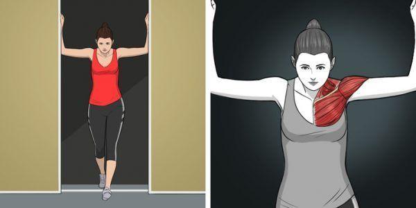 9 Ejercicios de estiramiento para hombros, cuello y espalda 5