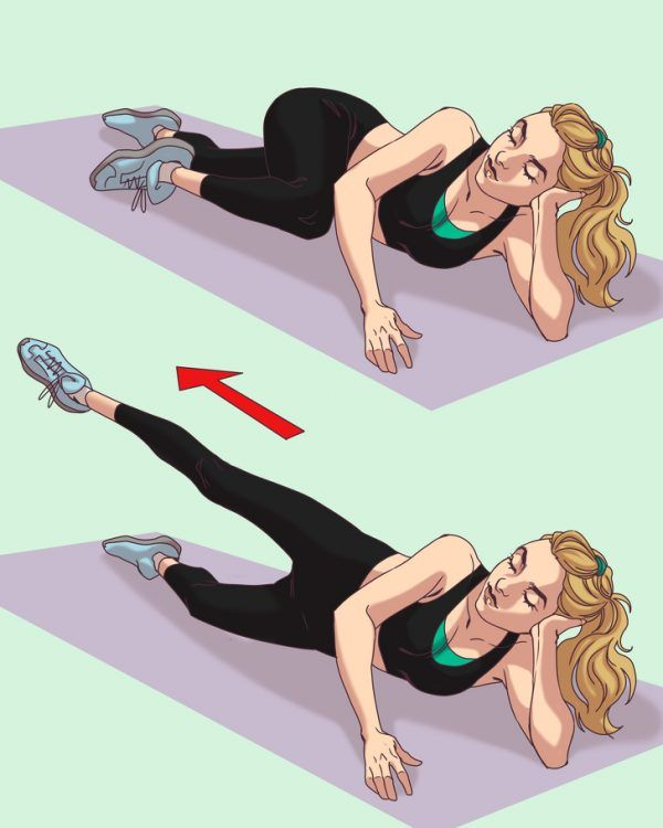 10 ejercicios para GLÚTEOS espectaculares 8
