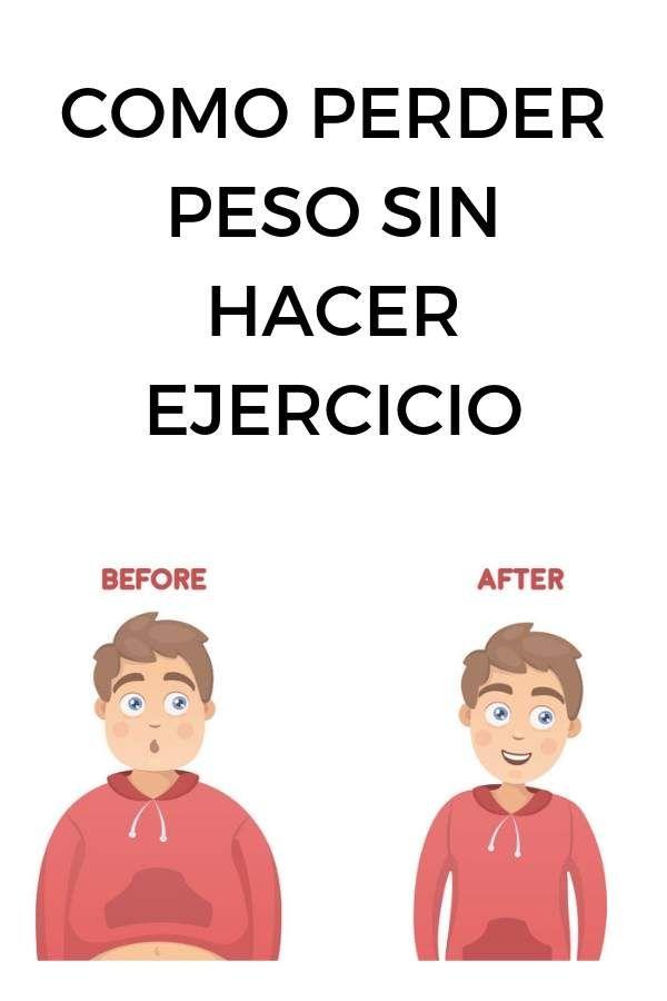 Como perdí 43 kilos en 6 meses (sin hacer ejercicio)