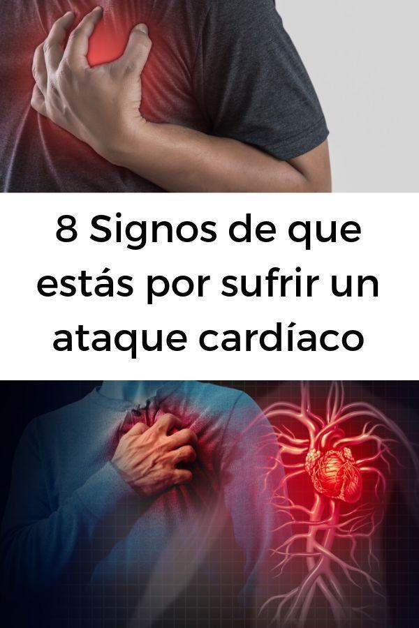 8 Signos de que estás por sufrir un ataque cardíaco