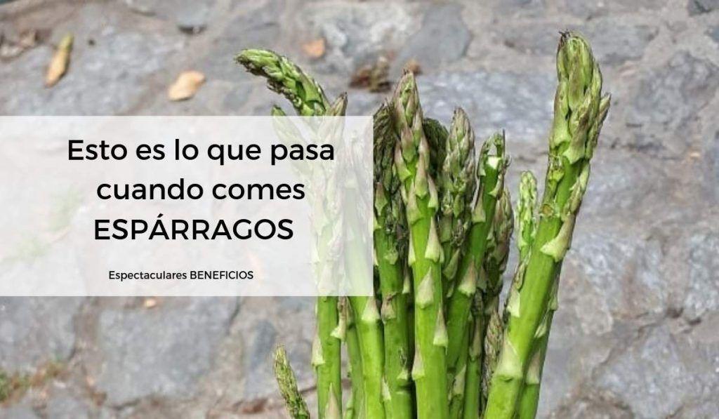 ESPARRAGOS BENEFICIOS