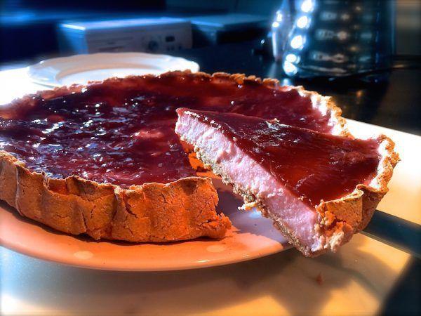 Receta de cheesecake fit . Rápido y sabroso 4