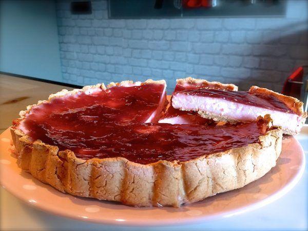 Receta de cheesecake fit . Rápido y sabroso 1