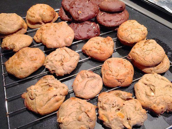 Receta de galletas de brownie proteicas . Perfectas para después de entrenar. 2