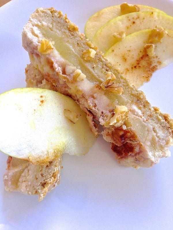 Receta de tarta de manzana saludable . Esponjosa y super rica! 4