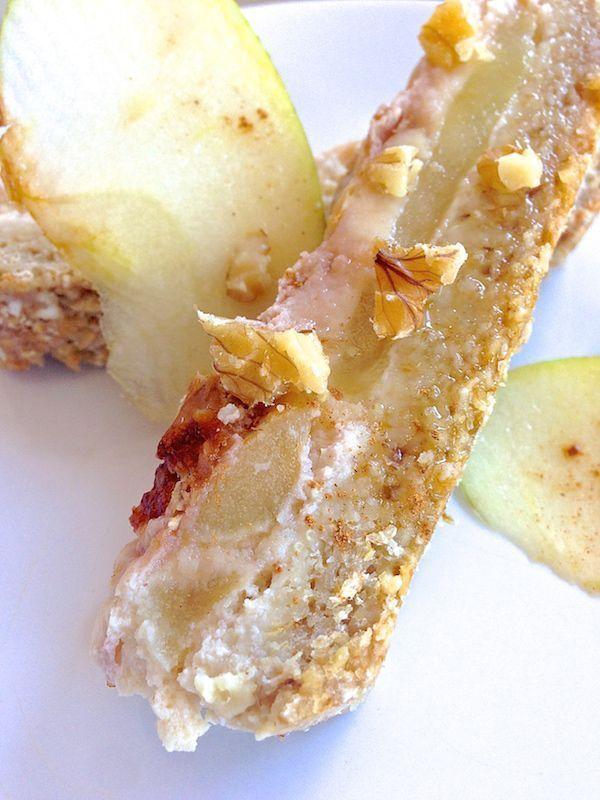 Receta de tarta de manzana saludable . Esponjosa y super rica! 2