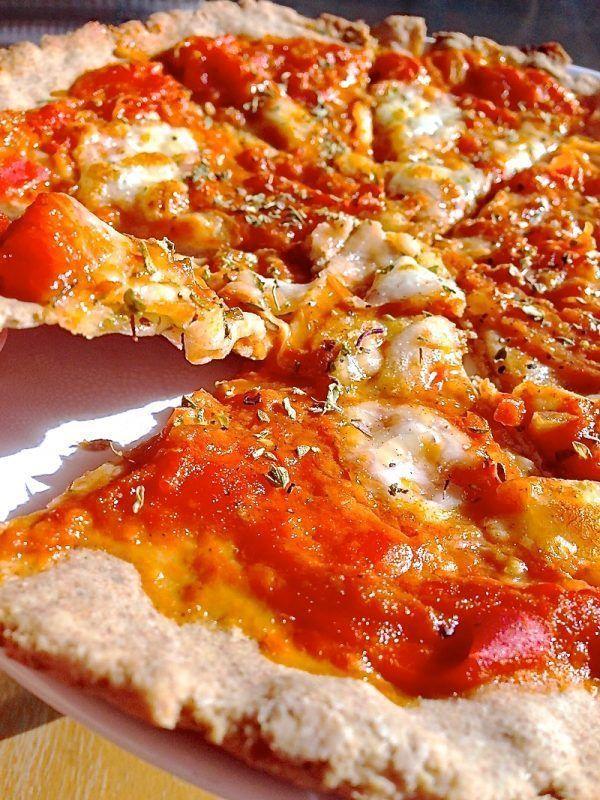 Receta de la auténtica pizza italiana (versión fit) . No te la puedes perder! 4