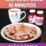 Como hacer crepes en solo 10 minutos . Más rápido imposible! 9