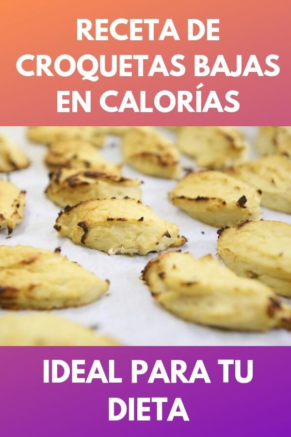 Receta de croquetas bajas en calorías . Ideal para tu dieta 1