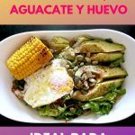 Receta de ensalada de semillas, aguacate y huevo . Ideal para perder peso 4