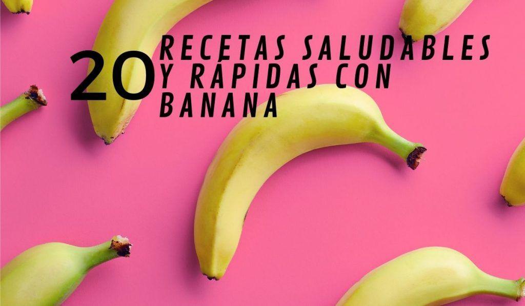 recetas banana