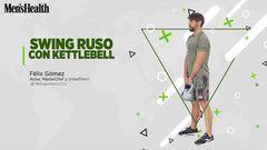 Swing ruso con kettlebell, el ejercicio perfecto para abdominales y quemar calorias 3