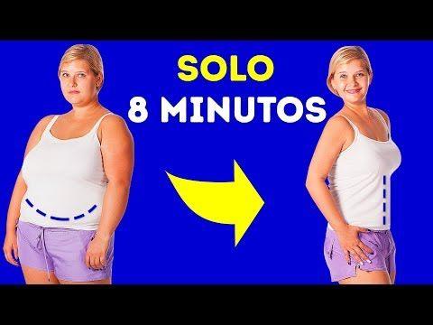 Entrenamiento de 8 minutos para deshacerte de la grasa en una semana