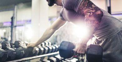 Entrenamiento full body con mancuernas. Fortalece todos tus músculos y quema calorías a lo loco! 10