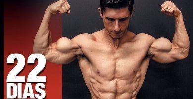 La forma de lograr músculos MÁS GRANDES en 22 días ¡GARANTIZADO!