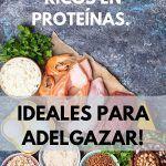 40 alimentos ricos en proteínas