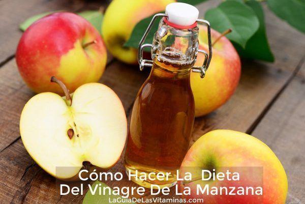 Como usar la vinagre de manzana para ADELGAZAR 1