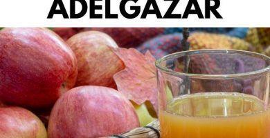 Como usar la vinagre de manzana para ADELGAZAR