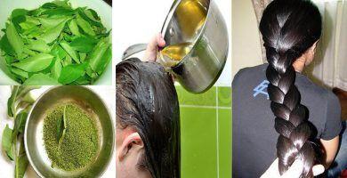 Aceite casero natural para el crecimiento del cabello 44